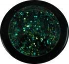 Glitter grob - blau grün