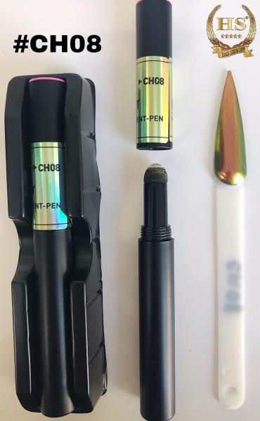 Pigmentstift - Gold-Grün Aurora
