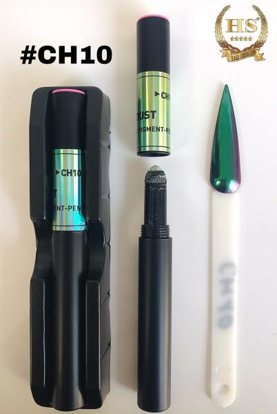 Pigmentstift - Grün Aurora