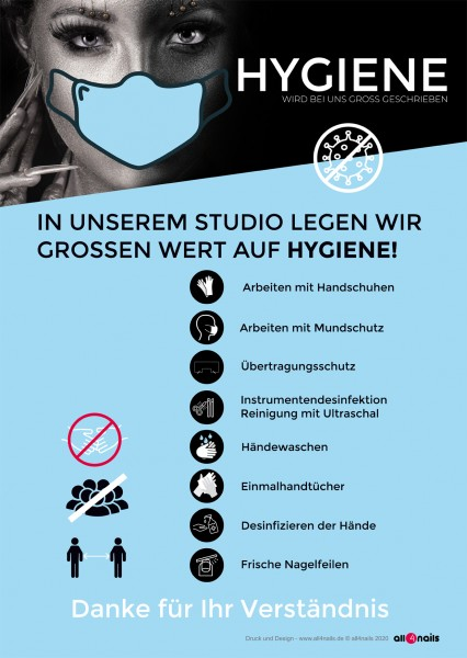 Hygiene-Hinweis A2