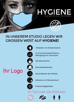 Hygiene-Hinweis A4