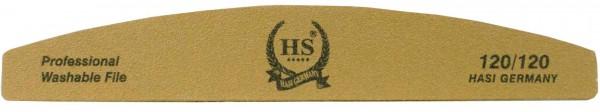 Halbmondfeile Gold 120/120 25st