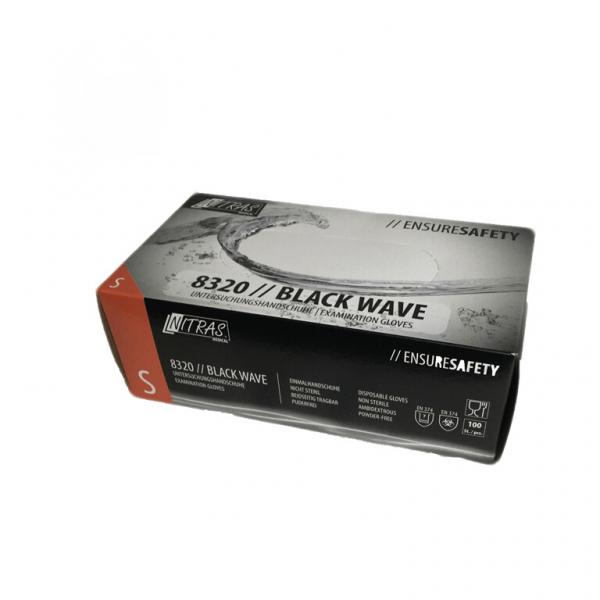 Nitril Einweghandschuh Black Wave 100st