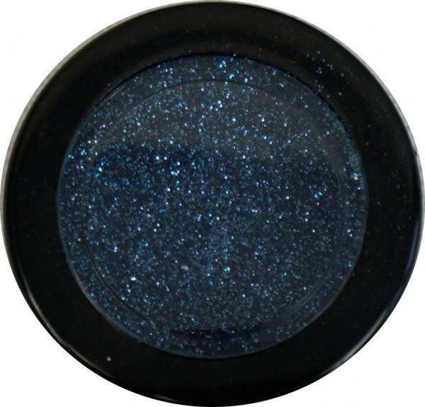 Glitter - medium mittelblau