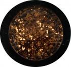 Glitter grob - rotgold